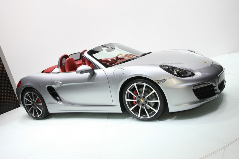 Der neue Porsche Boxster 2012 auf dem Genfer Autosalon 2012