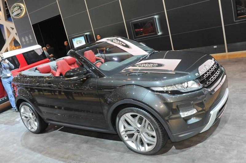 Range Rover Evoque als Cabriolet auf dem Genfer Salon 2012