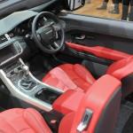 Range Rover Evoque als Cabriolet - Der Innenraum