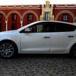 Renault Megane in der Seitenansicht