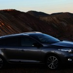 Der neue Renault Megane Grandtour 2012 in der seitenansicht