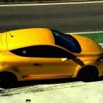 Renault Megane R.S. 2012 aus der Vogelperspektive