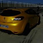 Renault Megane R.S. in der Heckansicht