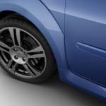 Die 17 Zoll Räder des Renault Twingo Gordini R.S.