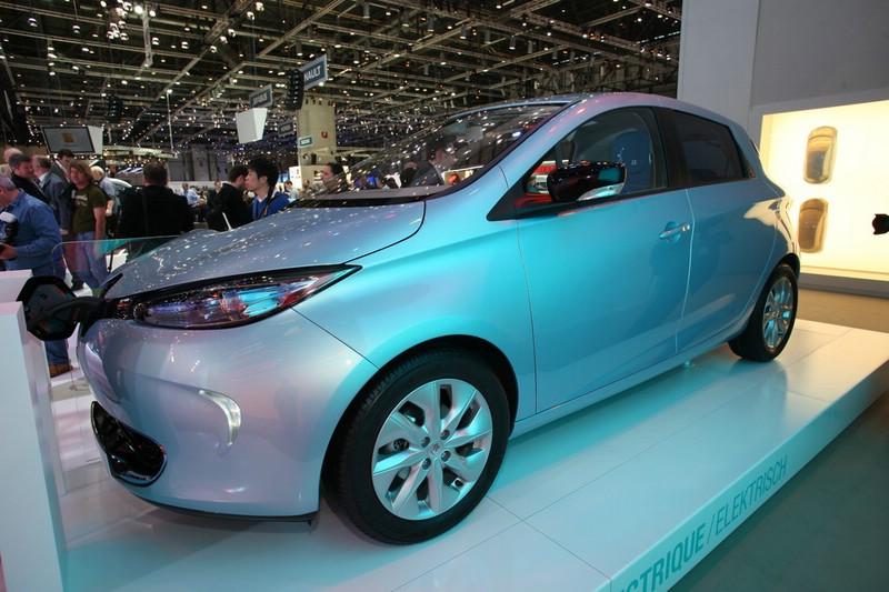 Renault präsentiert in Genf den Elektro-Zoe