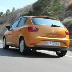 SEAT präsentiert 2012-er Ibiza (Heckansicht, Fahraufnahme)