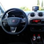 Das Cockpit des neuen Seat Ibiza Modell 2012