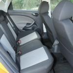 Der Innenraum und das Platzangebot des SEAT Ibiza (hinten)