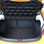 Der Kofferraum des Seat Ibiza 2012