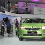 Skoda Citigo mit 5 Türen feiert Weltpremiere auf der Motorshow Genf.
