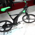 Das Smart Brabus E-Bike ist 45 km/h schnell.