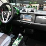 Der Innenraum des neuen Smart Brabus Electric Drive