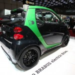 Smarts Elektrofahrzeug Brabus Electric Drive