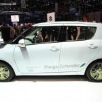 Der Suzuki Swift Range Extender in der Seitenansicht