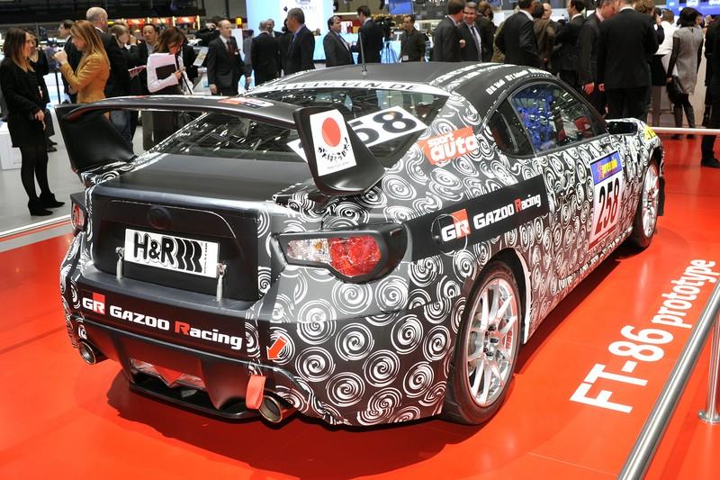 Toyotas Sportwagen GT86 auf der Genfer Salon 2012