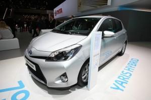 2012 Toyota Yaris Hybrid auf der Genfer Messe
