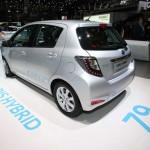 Toyota zeigt den Yaris Hybrid - Genf 2012