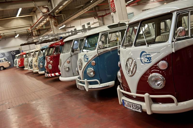 VW Bullis auf der Techno Classica