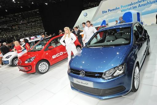 Der VW Polo Blue GT auf dem Genfer Autosalon 2012