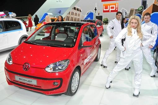 VW eco up mit Erdgasantrieb