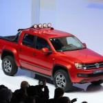 Volkswagen stellt auf der Genf-Messe den Amarok Canyon vor