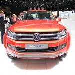 Der Volkswagen Amarok Canyon in der Frontansicht