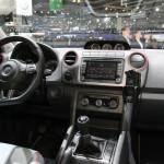 Der Innenraum des VW Amarok Canyon - Genf 2012