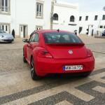 Neuer Volkswagen Beetle in der Heckansicht