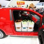 Der Volkswagen Cargo Up auf der Genfer Autosalon 2012