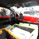 Der Innenraum des VW Cargo Up - Genf 2012