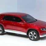 700 Newtonmeter Drehmoment entwickelt das Volkswagen Cross Coupe