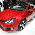 Volkswagen Golf GTI Cabriolet auf dem Genfer Automobilsalon 2012