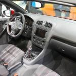 Der Innenraum des neuen Volkswagen Golf GTI Cabriolet - Genf 2012