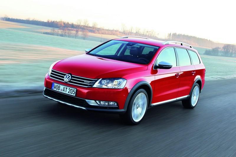 Die Frontpartie des neuen Volkswagen Passat Alltrack