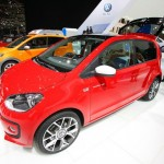 Der VW Swiss Up in Rot - Genfer Autosalon 2012