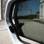 Der Seitenfenster des Volkswagen Up