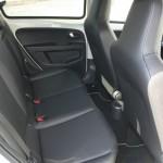 Volkswagen Up Fond - Hier nehmen mitfahrer Platz