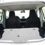 Der Gepäckraum des neuen Volkswagen Up