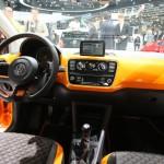 Der Innenraum des Volkswagen X Up