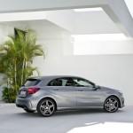 Mercedes-Benz A-Klasse 2012 in der Seitenansicht