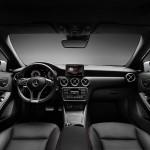 Das Armaturenbrett der neuen Mercedes-Benz A-Klasse