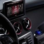 Das Display der neuen Mercedes-Benz A-Klasse