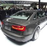Audi A6 L E-Tron in der Heckansicht auf der Auto China 2012