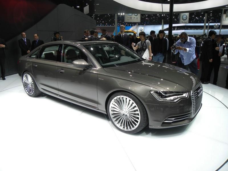 Der Audi A6 L E-Tron ist ein Konzeptfahrzeug von Audi