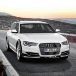 Der neue Audi A6 allroad quattro (Weiss, Fahraufnahme)