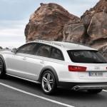 Audi A6 allroad quattro präsentiert sich von der Seite