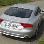 Audi A7 Sportback Heck (Silber, Standaufnahme)