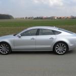 Audi A7 Sportback 2.8 FSI in der Seitenansicht
