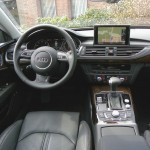 Der Innenraum des Audi A7 Sportback - Cockpit, Mittelkonsole, Ledersitze