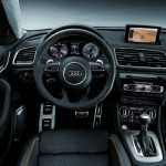 Das Cockpit des Audi Q3 jinlong yufeng